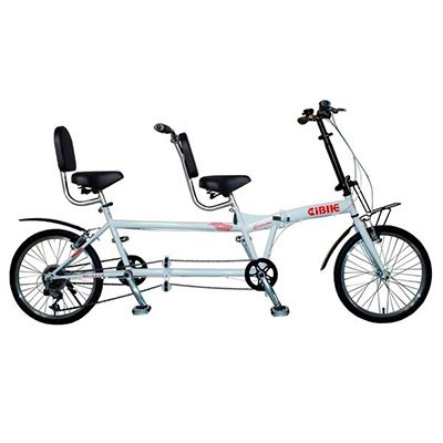 PIONEER 2 seaters - 20 inch 6 spd folding tandem bicycle