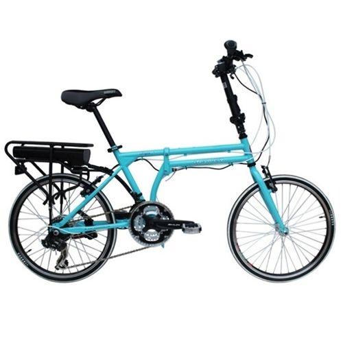 E-RIFLE_20 inch 21 spd E-folding bike