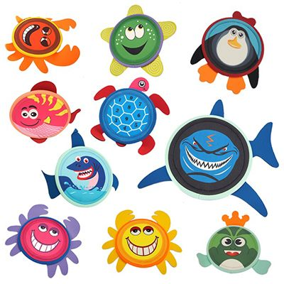 3D Cartoon Cloth Frisbees PS-APPG40B