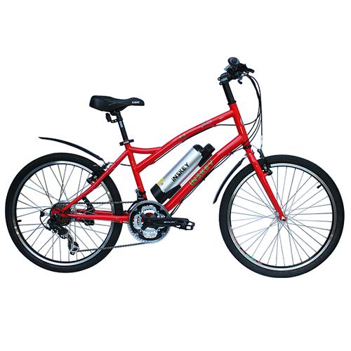 E-HAPPY FISH_24 inch 21 spd E-velo Bicycle