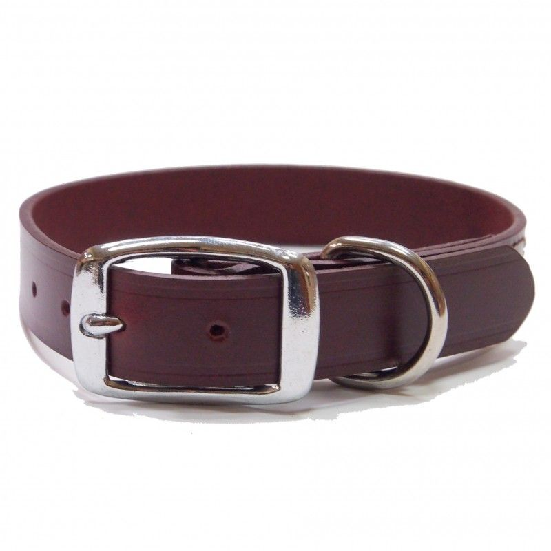 Full Grain Leather Dog Collar D-0101
