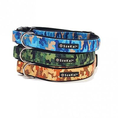 High-End Nylon Heat Transfer Neoprene Dog Collar N-1105