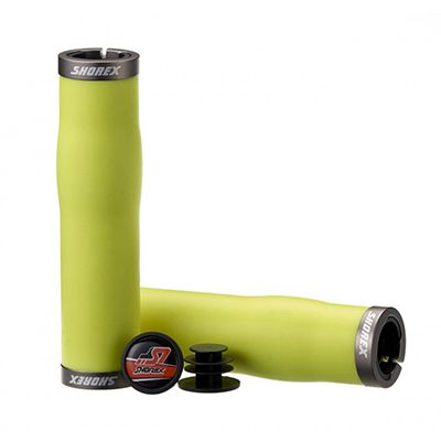 Silicone foam bar grip / ERGO II Lock-on