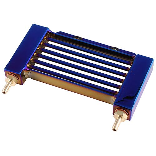 Airfoil aluminum alloy oil radiator