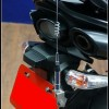 Radio Antenna Mount of Motorcycle for License Plate