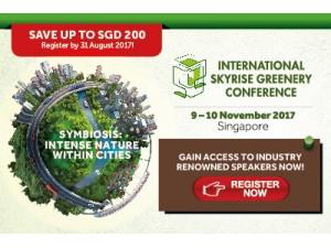 GreenUrbanScape Asia 2017