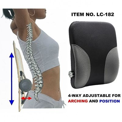 4-Way Adjustable Lumbar Cushion LC-182