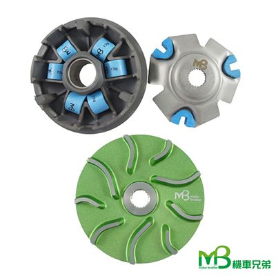 MB Black Power Pulley Set