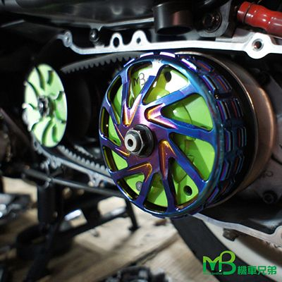MB BLACK POWER Forging Blue Titanium CLUTCH BELL (Racing)
