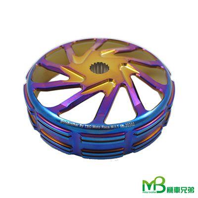 MB BLACK POWER Forging Blue Titanium CLUTCH BELL (Racing Ⅱ)