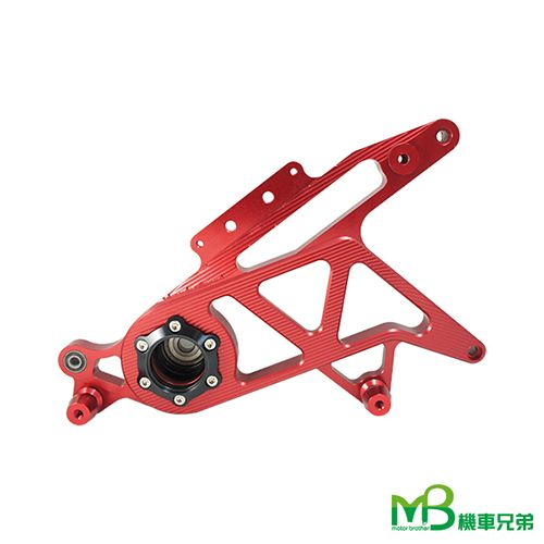 MB Aluminum Rear Swing Arm for BWS (can use single Shock seat)