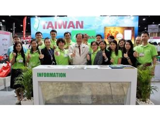 台灣農企業赴曼谷參展  促進台泰雙方農業交流