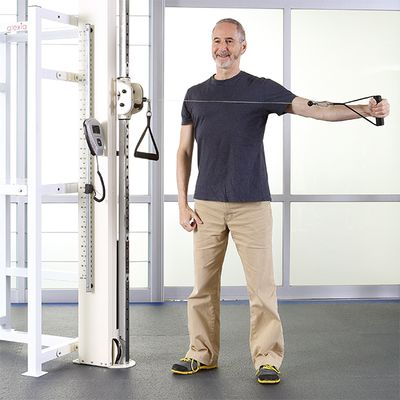 Upper/Lower Limbs Double Pulley Trainer