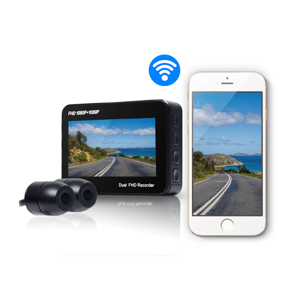 Motorcycle Dashcam S-1 (FHD 1080P)