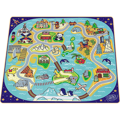 PP 08801- World Trip EVA Foam Puzzle