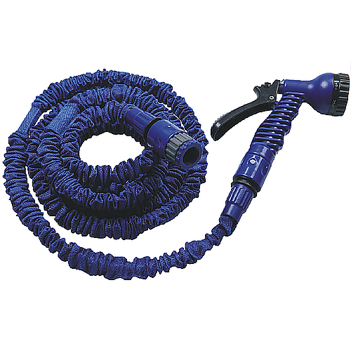 Intermittent expandable hose