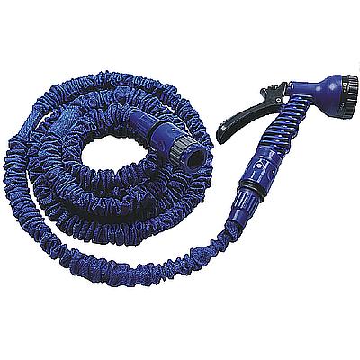 Intermittent expandable hose