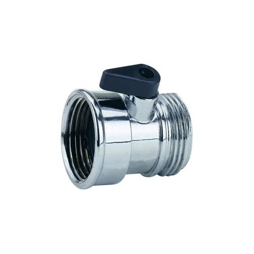 3/4 Metal one way shut-off hose connector A-319