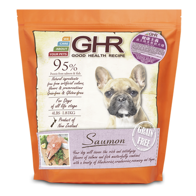 GHR - Saumon grain free dried dog food 1.81kg