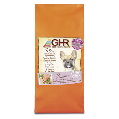 GHR - Saumon grain free dried dog food 6.81kg