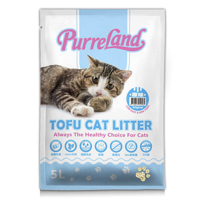 PurreLand tofu cat litter-Original