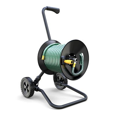 Jumbo Metal Hose Cart CHC-2310