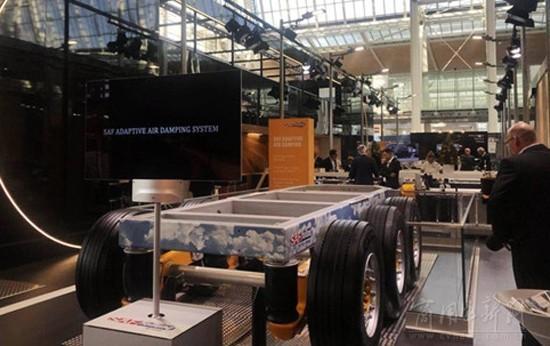 掛車上的黑科技 賽夫電動車軸能獨立發電