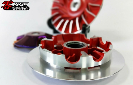 YAMAHA AEROX/NVX-155 dedicated Puli disk set