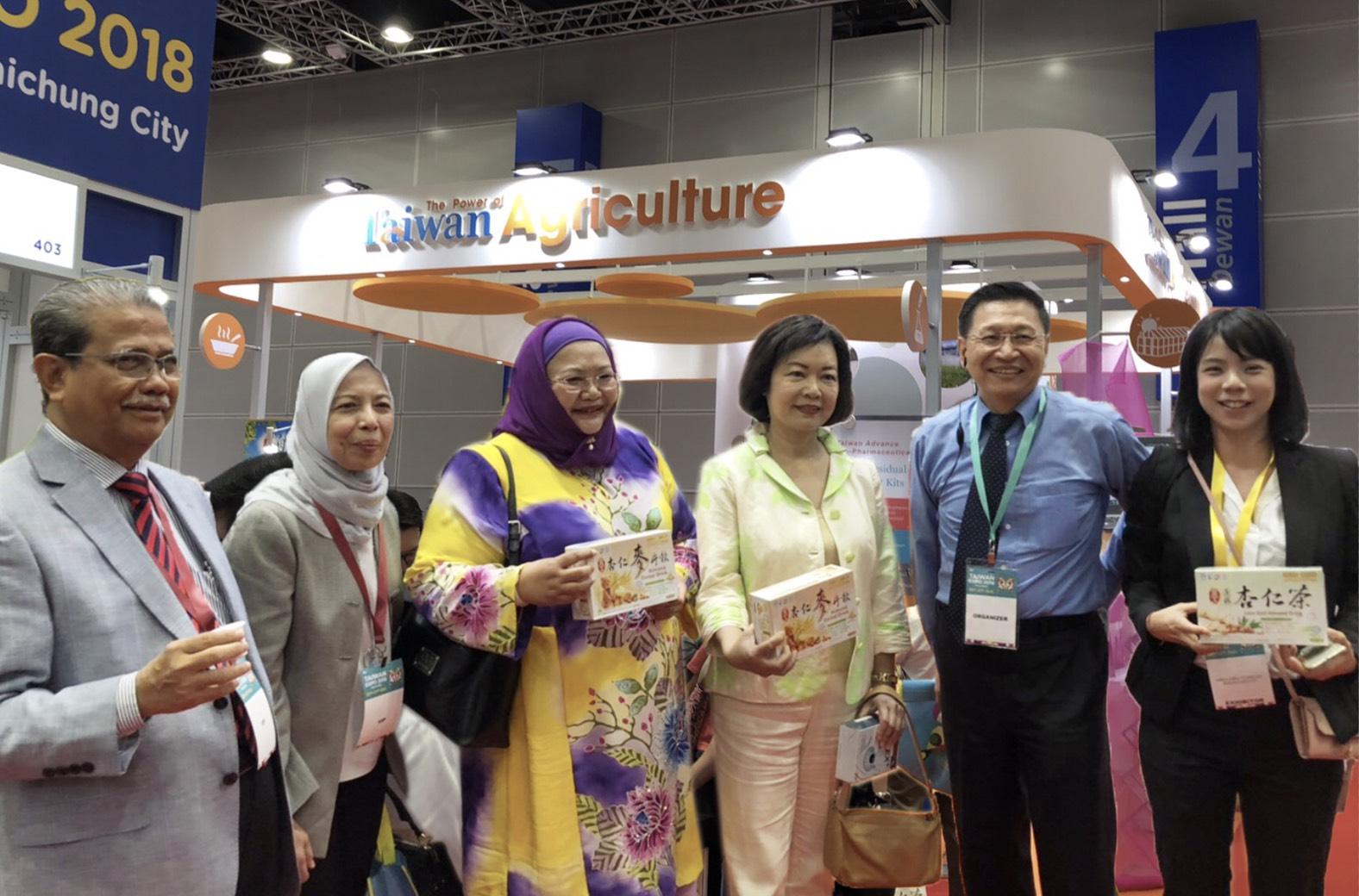 農委會組團參加馬來西亞「臺灣形象展」 開拓新南向農業商機