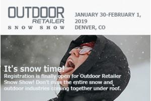 2019 Outdoor Retailer+Snow Show