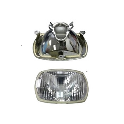 VESPA MOTORCYCLE HEAD LAMP, MOTORCYCLE HEADLIGHT