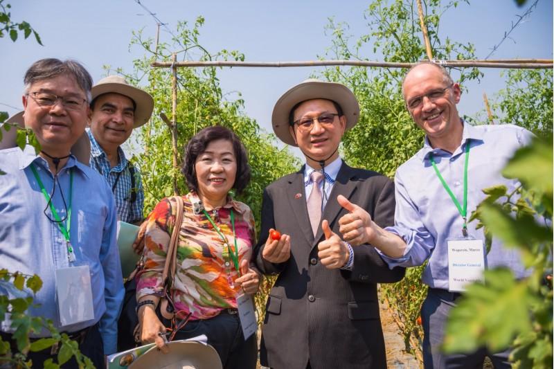 臺灣蔬菜種子種苗前進新南向 我國在泰國舉辦「臺灣蔬菜品種觀摩會」
