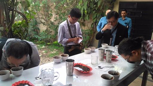 中美洲咖啡產業商機考察團赴宏都拉斯Ocotepeque省進行貿易洽談會