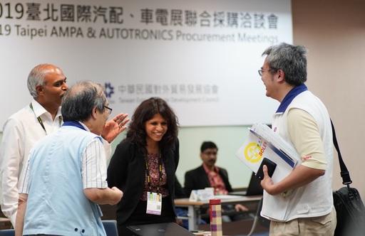 2019年「台北國際汽車零配件展」六聯展 創新科技化產品吸睛 國外買主數突破上屆