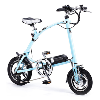 Iuvo Bianda Folding e-bike