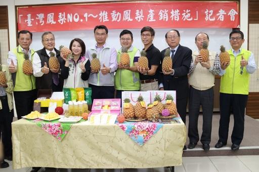 臺灣鳳梨NO.1 外銷、直銷、加工多管齊下 促發展