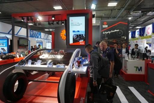 台灣精品聚焦車用電子 搶攻歐美市場