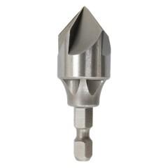 5 Flute Countersink Drill Bit, 90 degree for 1/4'' Hex Shank  PO-045-4