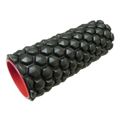 Massage therapy hollow foam roller, textured muscle foam roller