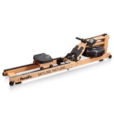 HouseFit Solid Wood Water Rower Rowing Machine