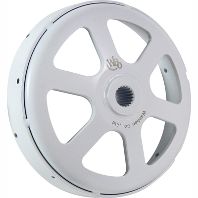 Forging Pulley Set  (White)