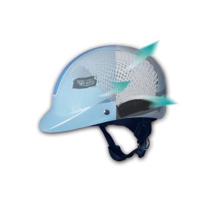 Safety helmet breathable cushion
